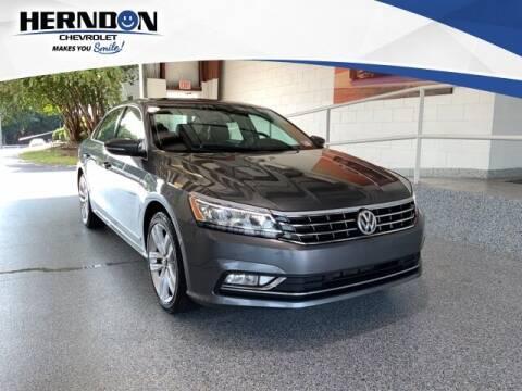2017 Volkswagen Passat for sale at Herndon Chevrolet in Lexington SC