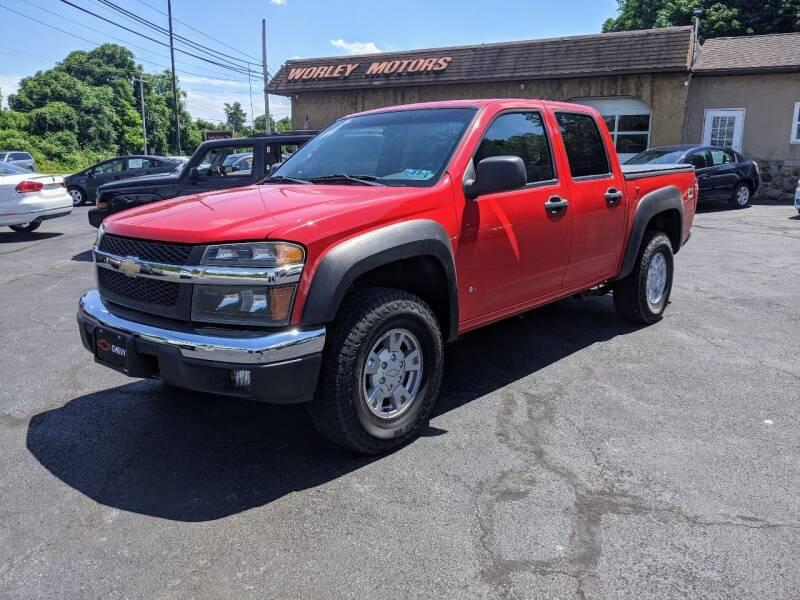 2006 Chevrolet Colorado for sale at Worley Motors in Enola PA