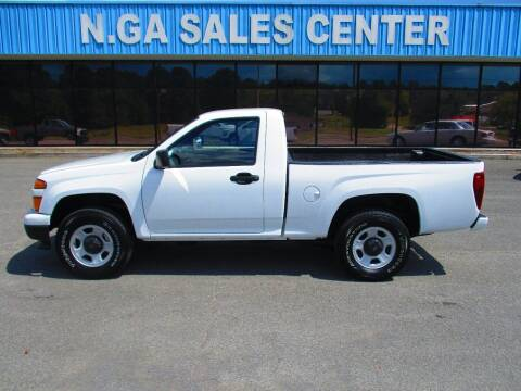 2011 Chevrolet Colorado for sale at NORTH GEORGIA Sales Center in La Fayette GA