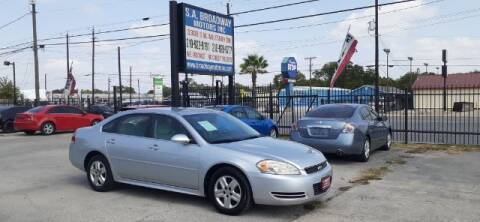 2010 Chevrolet Impala for sale at S.A. BROADWAY MOTORS INC in San Antonio TX