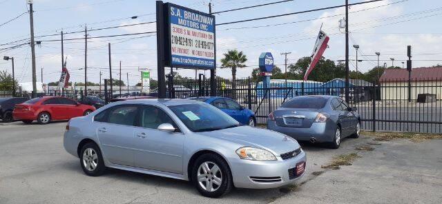 2010 Chevrolet Impala for sale at S.A. BROADWAY MOTORS INC in San Antonio TX