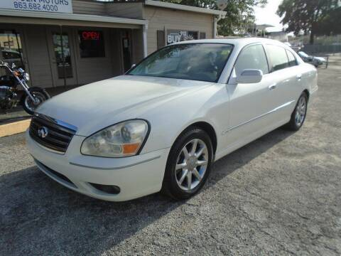 2005 Infiniti Q45 for sale at New Gen Motors in Lakeland FL