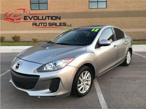 2012 Mazda MAZDA3 for sale at Evolution Auto Sales LLC in Springville UT