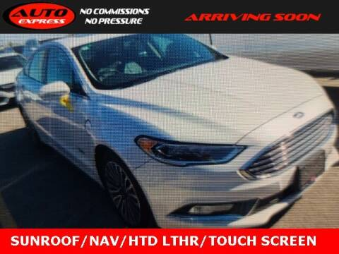 2018 Ford Fusion Energi for sale at Auto Express in Lafayette IN