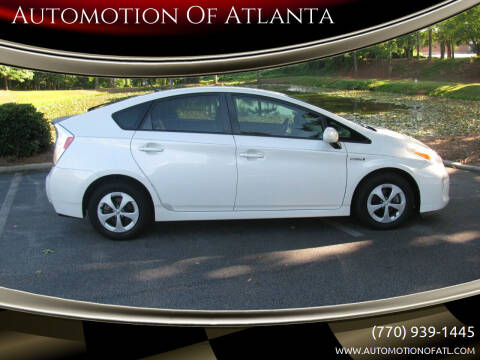 2012 Toyota Prius for sale at Automotion Of Atlanta in Conyers GA