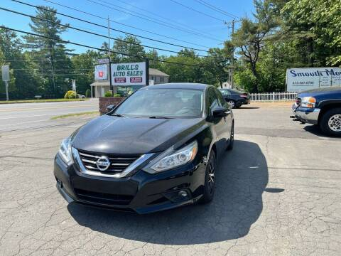 2017 Nissan Altima for sale at Brill's Auto Sales in Westfield MA