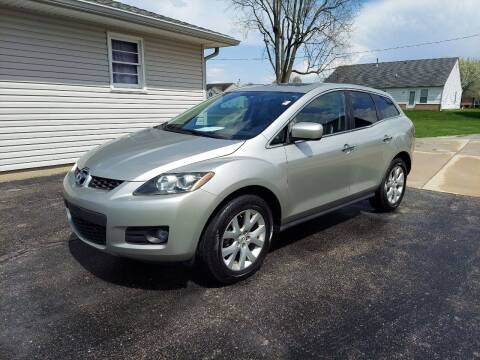 2007 Mazda CX-7 for sale at CALDERONE CAR & TRUCK in Whiteland IN
