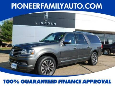 2016 Lincoln Navigator L for sale at Pioneer Family auto in Marietta OH