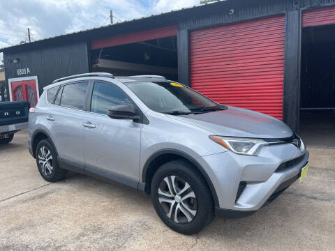 2017 Toyota RAV4 for sale at JORGE'S MECHANIC SHOP & AUTO SALES in Houston TX
