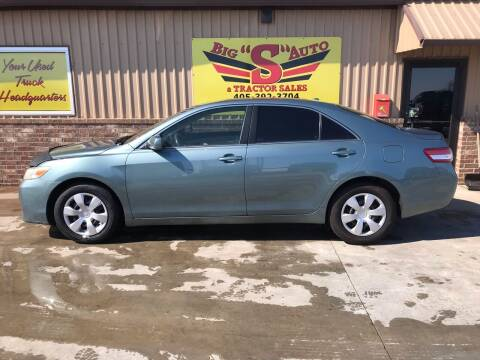 2011 Toyota Camry for sale at BIG 'S' AUTO & TRACTOR SALES in Blanchard OK
