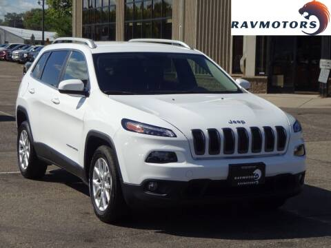 2018 Jeep Cherokee for sale at RAVMOTORS 2 in Crystal MN