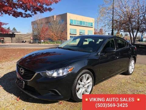 2014 Mazda MAZDA6 for sale at VIking Auto Sales LLC in Salem OR