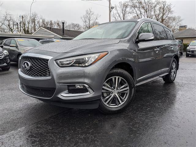 2020 Infiniti QX60 for sale at GAHANNA AUTO SALES in Gahanna OH