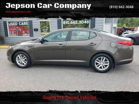 2013 Kia Optima for sale at Jepson Car Company in Saint Clair MI