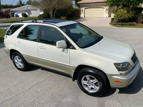 2000 Lexus RX 300 for sale at Exceed Auto Brokers in Pompano Beach FL