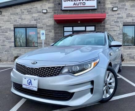 2016 Kia Optima for sale at GREENVILLE AUTO & RV in Greenville WI