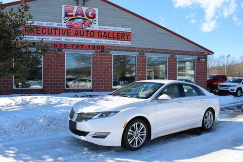 2014 Lincoln MKZ Hybrid for sale at EXECUTIVE AUTO GALLERY INC in Walnutport PA