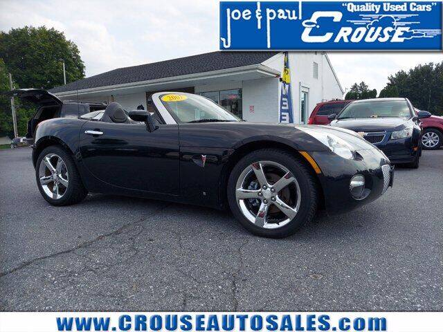 2007 Pontiac Solstice for sale at Joe and Paul Crouse Inc. in Columbia PA
