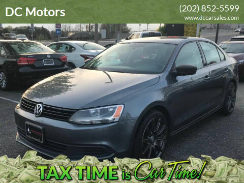2014 Volkswagen Jetta for sale at DC Motors in Springfield VA