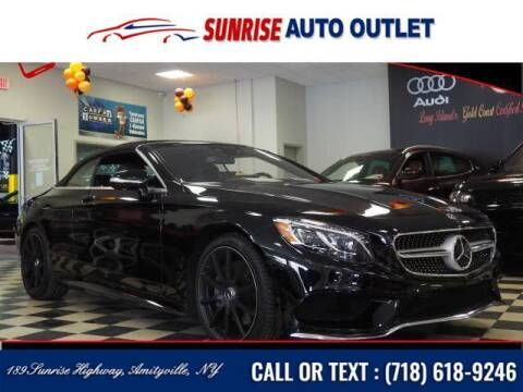2017 Mercedes-Benz S-Class for sale at Sunrise Auto Outlet in Amityville NY