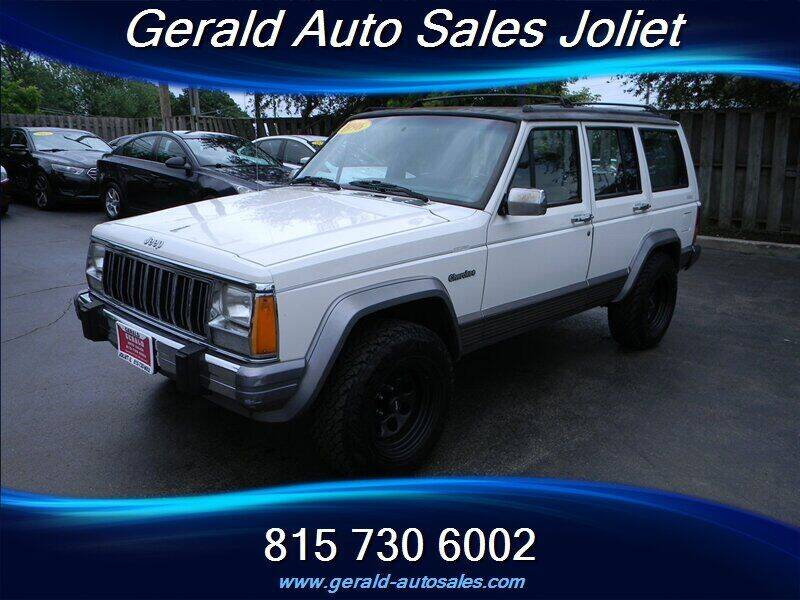 1996 Jeep Cherokee for sale at Gerald Auto Sales in Joliet IL