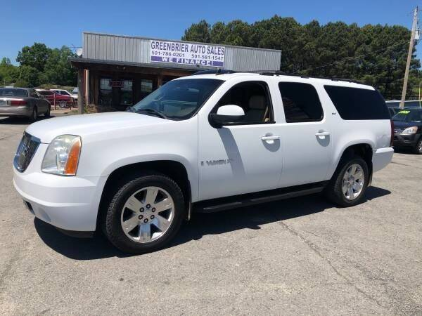 2007 GMC Yukon XL for sale at Greenbrier Auto Sales in Greenbrier AR