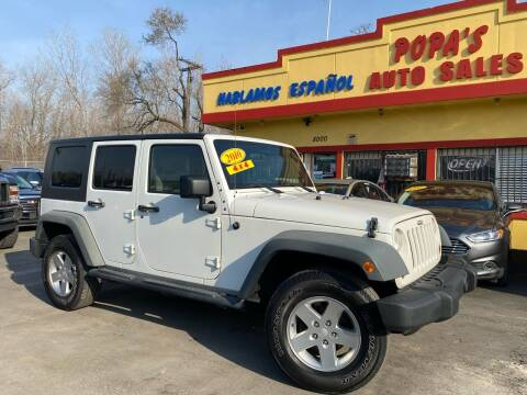 2010 Jeep Wrangler Unlimited for sale at Popas Auto Sales in Detroit MI