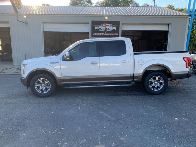 2015 Ford F-150 for sale at Jack Foster Used Cars LLC in Honea Path SC