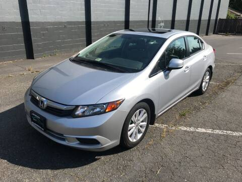 2012 Honda Civic for sale at APX Auto Brokers in Lynnwood WA
