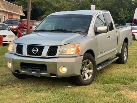 2005 Nissan Titan for sale at Texas Select Autos LLC in Mckinney TX