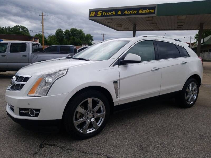 2012 Cadillac SRX for sale at R & S TRUCK & AUTO SALES in Vinita OK