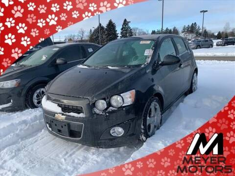 2015 Chevrolet Sonic for sale at Meyer Motors in Plymouth WI