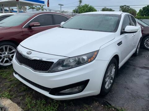 2013 Kia Optima for sale at America Auto Wholesale Inc in Miami FL