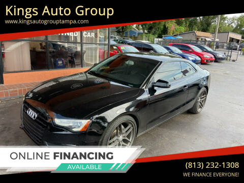 2014 Audi A5 for sale at Kings Auto Group in Tampa FL