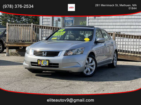 2008 Honda Accord for sale at ELITE AUTO SALES, INC in Methuen MA
