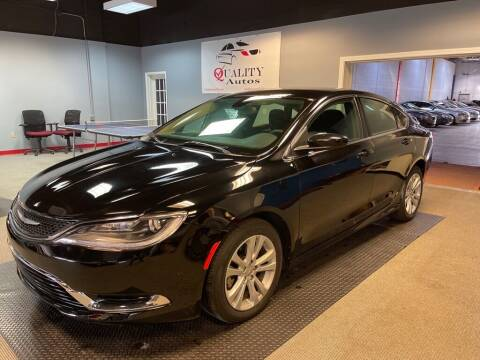 2015 Chrysler 200 for sale at Quality Autos in Marietta GA