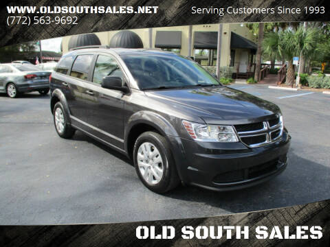 2018 Dodge Journey for sale at OLD SOUTH SALES in Vero Beach FL