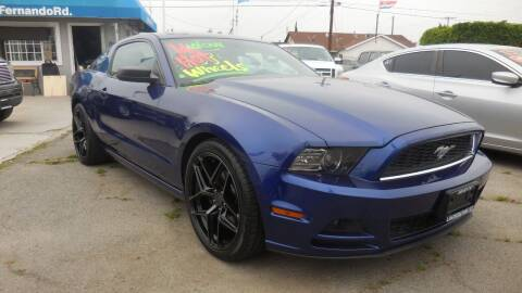 2014 Ford Mustang for sale at Luxor Motors Inc in Pacoima CA