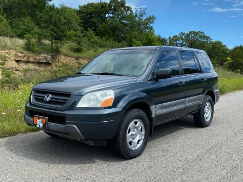 2004 Honda Pilot for sale at TINKER MOTOR COMPANY in Indianola OK