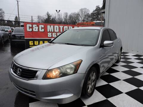 2008 Honda Accord for sale at C & C Motor Co. in Knoxville TN
