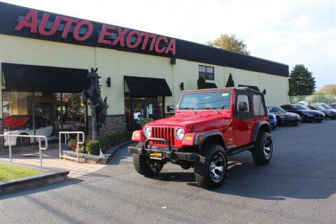 2003 Jeep Wrangler for sale at Auto Exotica in Red Bank NJ