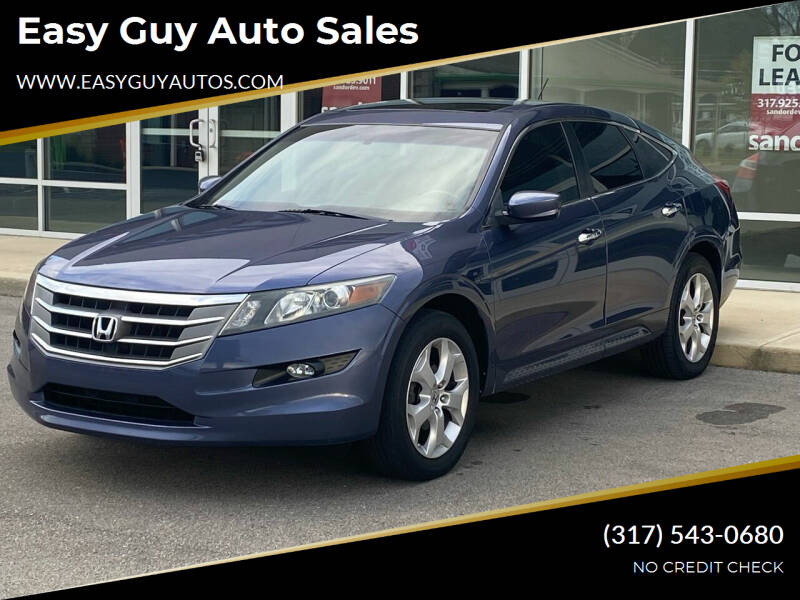 2012 Honda Crosstour for sale at Easy Guy Auto Sales in Indianapolis IN