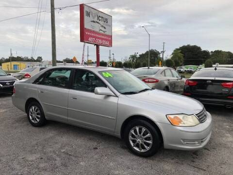 2004 Toyota Avalon for sale at Invictus Automotive in Longwood FL