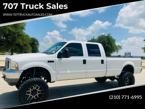 2003 Ford F-250 Super Duty for sale at 707 Truck Sales in San Antonio TX