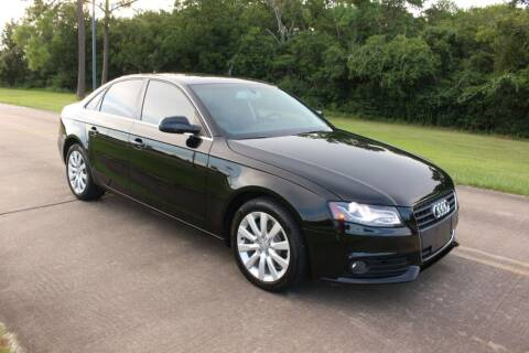 2011 Audi A4 for sale at Clear Lake Auto World in League City TX