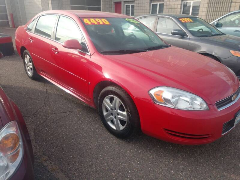 2009 Chevrolet Impala for sale at Kull N Claude in Saint Cloud MN