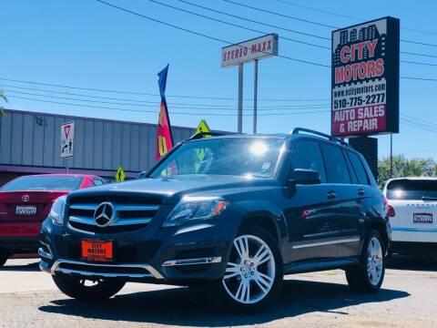 2015 Mercedes-Benz GLK for sale at City Motors in Hayward CA