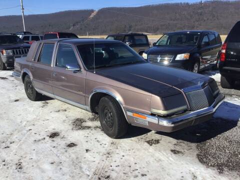 1990 Chrysler Imperial for sale at Troys Auto Sales in Dornsife PA
