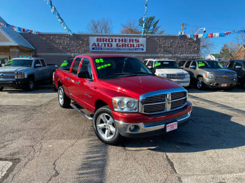 2007 Dodge Ram Pickup 1500 for sale at Brothers Auto Group in Youngstown OH
