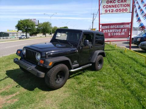 2006 Jeep Wrangler for sale at OKC CAR CONNECTION in Oklahoma City OK